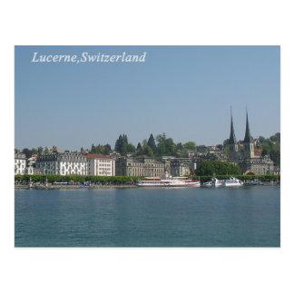 Luzerne, die Schweiz-Postkarte Postkarte