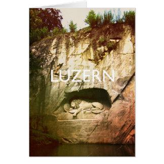 Luzerne - Luzern Karte