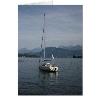 Luzerner See, die Schweiz Karte