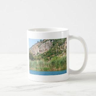 Lycian Felsen-Gräber, Dalyan, die Türkei Kaffeetasse
