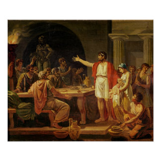Lycurgus, die Menschen des Altertums von Sparta ze Poster