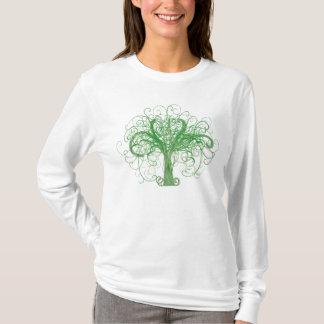 Lydias Baum des Lebens (Front und Rückseite) T-Shirt
