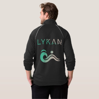 LYKAN LOGO-U. IKONEN-FLEECE-BAHN-JACKE JACKE