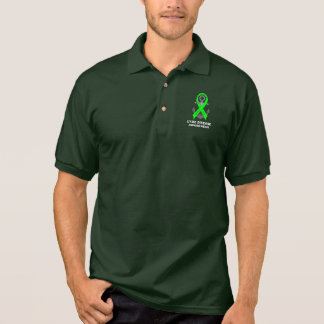 Lyme-Borreliose-Anker der Hoffnung Polo Shirt