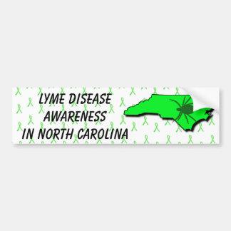 Lyme-Borreliose-Bewusstsein im North Autoaufkleber