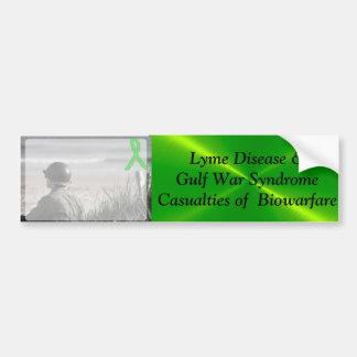 Lyme-Borreliose-Golfkrieg-Syndrom, Autoaufkleber