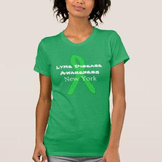 Lyme Krankheits-Bewusstsein in New- YorkShirt T-Shirt