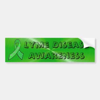 Lyme Krankheits-Bewusstseins-Autoaufkleber Autoaufkleber