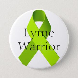Lyme Krieger Runder Button 7,6 Cm