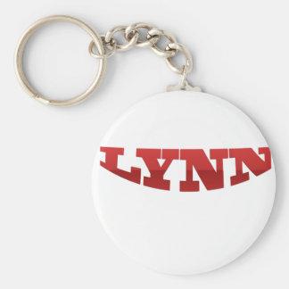 LYNN.png Standard Runder Schlüsselanhänger