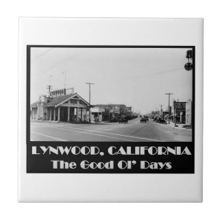 Lynwood Kalifornien Rückseite wenn Keramikfliese