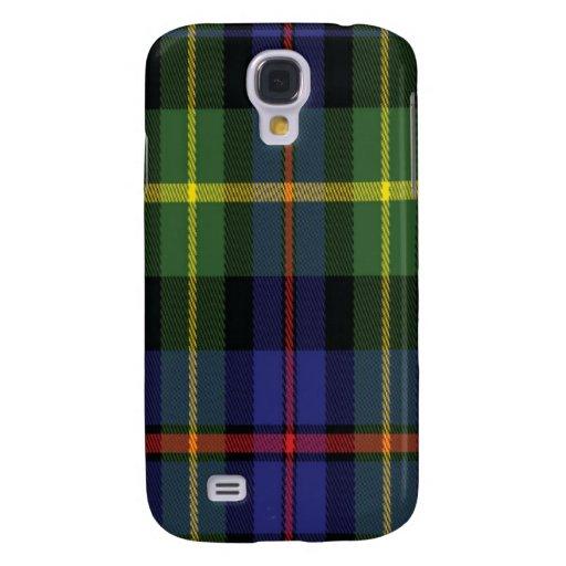 Lyon schottischer Tartan Samsung rufen Fall an Galaxy S4 Hülle