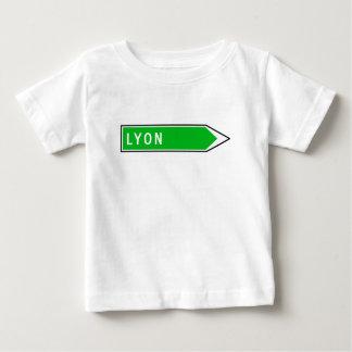 Lyon, Verkehrsschild, Frankreich Baby T-shirt