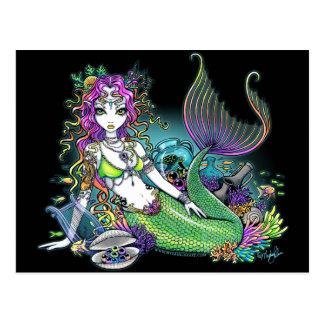 """Lyra"" tropische Postkarte"