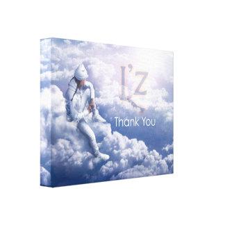 """L'z """"danken Ihnen"""" erstklassige Galerie Faltleinwand"""