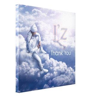 """L'z """"danken Ihnen"""" erstklassige Gespannte Galerie Drucke"""