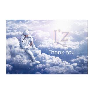 """L'z- """"danken Ihnen"""" erstklassige Leinwand Druck"""