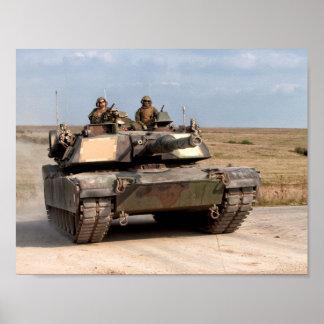 M1A1 Abrams Hauptpanzer Poster