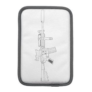 M4 SOPMOD Weiß mit Ziegeln gedeckt