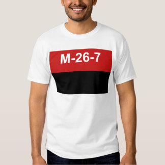 M-26-7 Flagge - De Julio Bandera Del Movimiento 26 Hemd