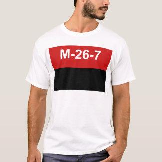 M-26-7 Flagge - De Julio Bandera Del Movimiento 26 T-Shirt