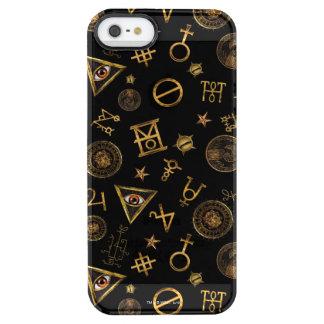 M.A.C.U.S.A. Magische Symbole und Wappen-Muster Durchsichtige iPhone SE/5/5s Hülle