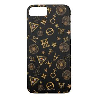 M.A.C.U.S.A. Magische Symbole und Wappen-Muster iPhone 8/7 Hülle