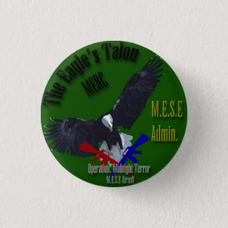 M.E.S.E Airsoft Operation: Mitternachtsterror Runder Button 2,5 Cm