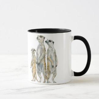 M ist für Meerkat Tasse