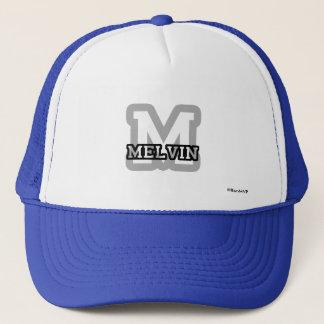 M ist für Melvin Truckerkappe