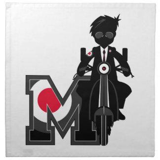 M ist für Mod Serviette