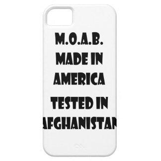 M.O.A.B. Gemacht in Amerika prüfte in Afghanistan iPhone 5 Etuis