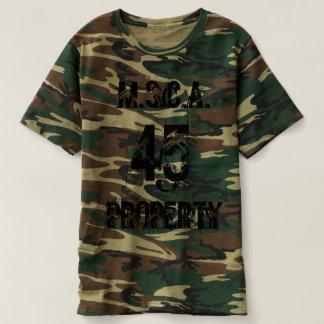 M.S.C.A. Eigentum 45 Cammo T-shirt