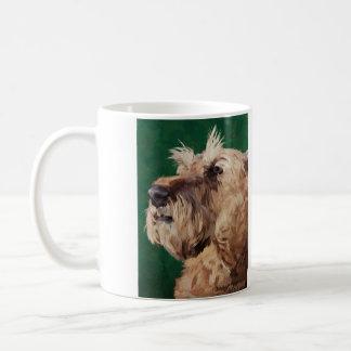 Mabel der irische Terrier Kaffeetasse