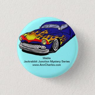 Mable von der Hase-Kreuzungs-Reihe Runder Button 3,2 Cm
