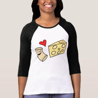 Mac-Herz-Käse, leckeres Makkaroni + Käse-Shirt T-Shirt