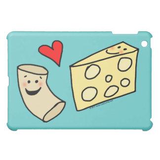 Mac-Liebe-Käse, lustiges niedliches Makkaroni + iPad Mini Hüllen