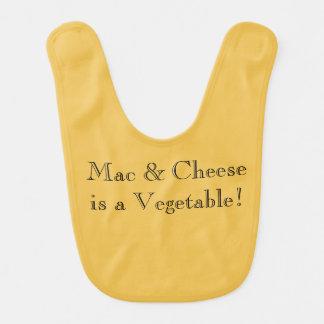 """""""Mac u. Käse ist ein Gemüse"""" lustiger Lätzchen"""