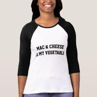 Mac u. Käse ist mein Gemüsebaseball-T-Shirt T-Shirt