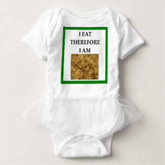 Mac und Käse Baby Strampler
