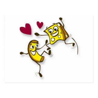 Mac und Käse der Liebe I Postkarte
