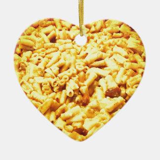 Mac und veganer Käse… Keramik Ornament