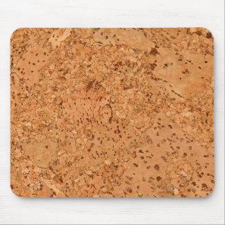Macadamia-Korken-Knoten-hölzerner Korn-Blick Mousepad