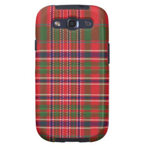 Macalister schottischer Tartan Samsung rufen Fall Samsung Galaxy S3 Etuis