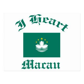Macao-Entwurf Postkarte