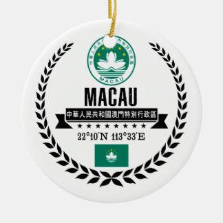 Macao Keramik Ornament