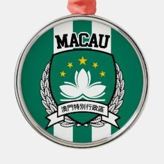 Macao Silbernes Ornament