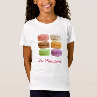 Macaron Plätzchen - muti-farbige Pastelle T-Shirt
