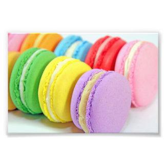Macarons Foto-Drucke Fotografien