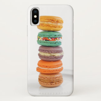 Macarons iPhone X Hülle